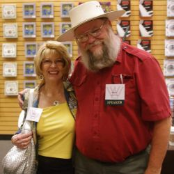 Kat Martin and Mark Hall-Patton from 'Pawn Stars'