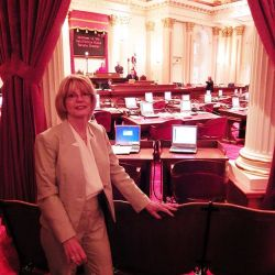 Kat Being Introduced At The California Senate