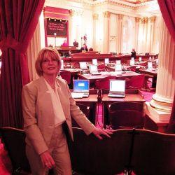 Kat Being Introduced At The California Senate