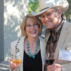 Kat and Larry Martin at the Western Writers Convention in Sacramento, California
