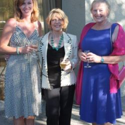 Publicist Krista Soukup, with Kat Martin and Marcia Castle